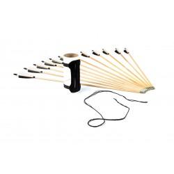 Laminált LARP longbow szett