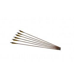 1x Flèche bambou médiévale