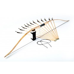 "Garniture d'arc longbow réflexé 75"""