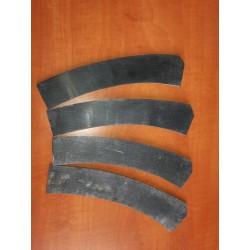 Horn plate bow siyah