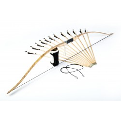 "Garniture d'arc longbow réflexé 71"""