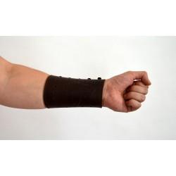 Caballero protección de brazo con cordonnes