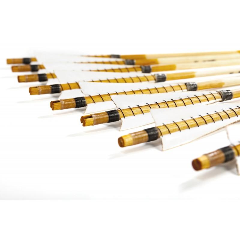 Medieval longbow arrow set