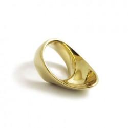 Réz íjászgyűrű