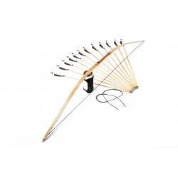 "71"" deflex-reflex hunting bow set"