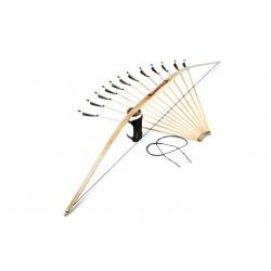 """71"""" deflex-reflex hunting bow set"""