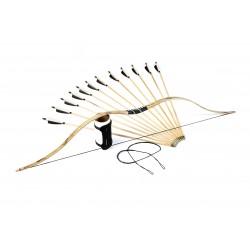 Scythian nomad bow set